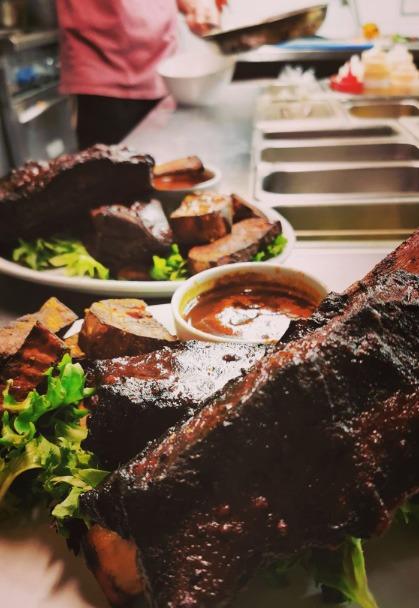 Photo d'une assiette de viande